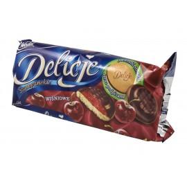 Delicje Szampanskie Kirschkuchen in Schokolade 147g