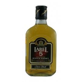 Label 5 Classic Black Scotch Whisky 0,2L - 40% Vol. Alc