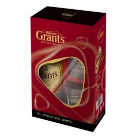 Grant's Scotch Whisky mit zwei Gläser 0,7L - 40% Vol. Alc