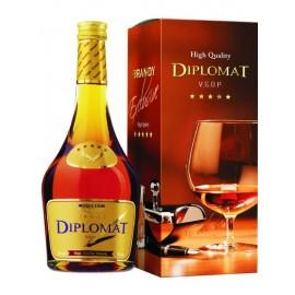 Diplomat - 5 Stars Exclusive Brandy 0,5L - 36% Vol. Alc
