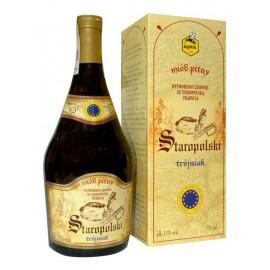 Honigwein Staropolski Trojniak in Verpackung 0,75L - 13% Vol. Alc