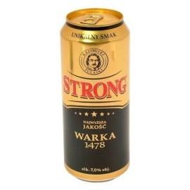 BIER-Warka STRONG 0,5l - 7 vol.alc.