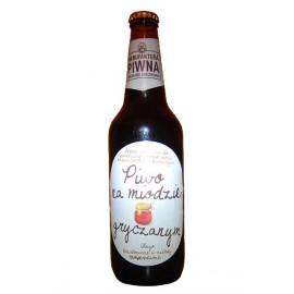 Bier auf Buchweizenhonig 0,5l Flasche
