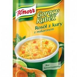 KNORR - Hühnerboullion mit Nudeln - Goracy Kubek