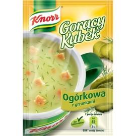 KNORR - Gurken mit Croutons - Goracy Kubek