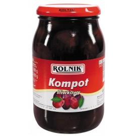 ROLNIK - Pflaume Kompott 900g