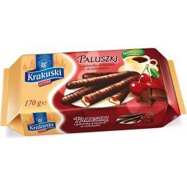 """Krakuski - """"Paluszki"""" - Kuchen mit Kirchsgelee im Schokolade 170g"""
