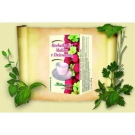 HERBAPOL-Himbeere Königskerze Blumetee 2,0g x 20 Stück