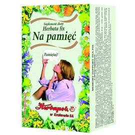 HERBAPOL-Herbatka Fix na pamiec 2,0 x 20 sztuk