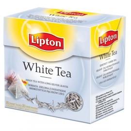 Lipton-Weiß 20 beutel Pyramide.