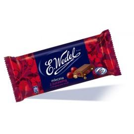 E.Wedel Schokolade mit getrockneten Cranberries und Knuspermüsli