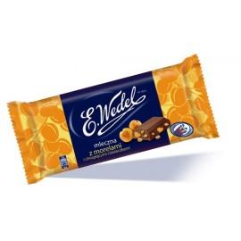 E.Wedel-Schokolade mit getrockneten Aprikosen und knackige Kekse