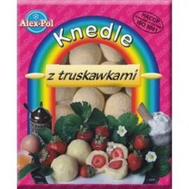 ALEX- POL-Knödel mit Erdbeeren