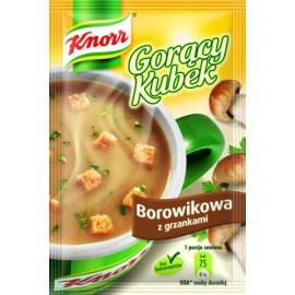 KNORR-Steinpilte mit Croutons