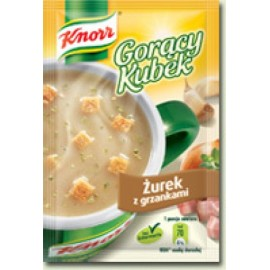 KNORR-Sauere Mehlsuppe mit Croutons
