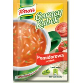 KNORR- Tomatensuppe mit Reis