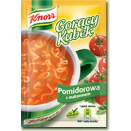 KNORR-Tomatensuppe mit Nudeln