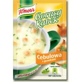 KNORR- Zwiebeln mit Croutons