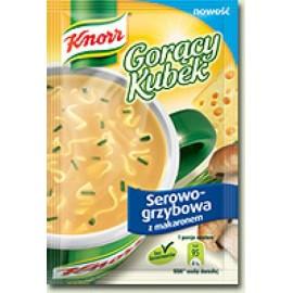 KNORR-Käse-Pilze mit Nudeln