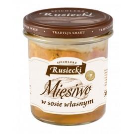 RUSIECKI-Fleischstücke in eigene Soße 300g