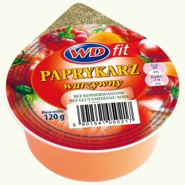 WD-Gemüsen Paprykarz 120g