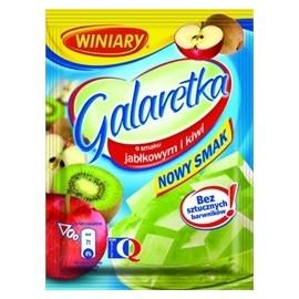 WINIARY-Apfel-Kiwi Gelee