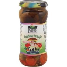 Podgrzybki marynowane w zalewie pomidorowej 250g
