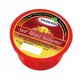 MLEKPOL-Gelbkäse Mini Salami 350g