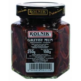 ROLNIK-Pilze MUN geschnitten 250g Glas