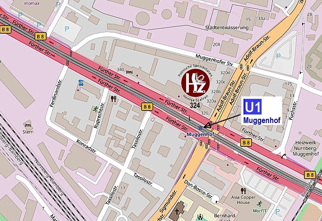 Fürther Straße 324, Nürnberg
