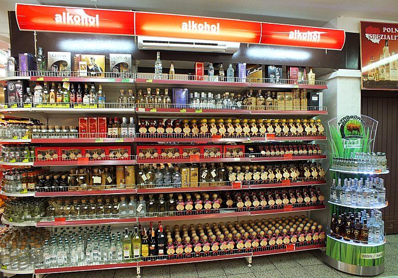 Alkohol in allen Varianten